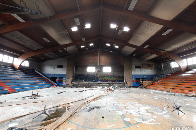 Guerin Holy Cross Gym In Decay