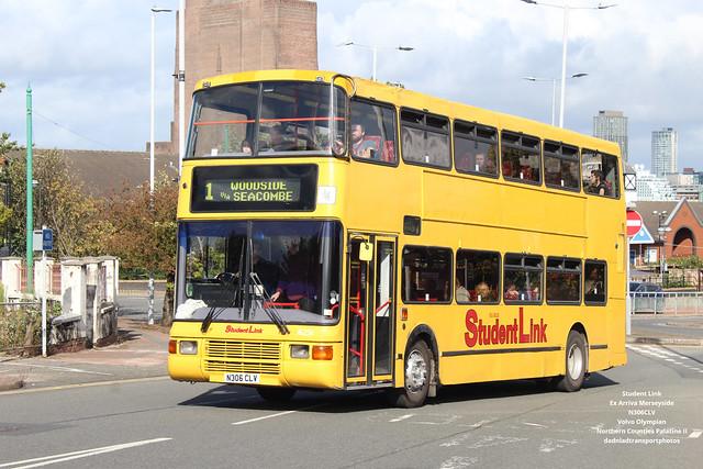 Student Link / Ex Arriva Merseyside - N306CLV