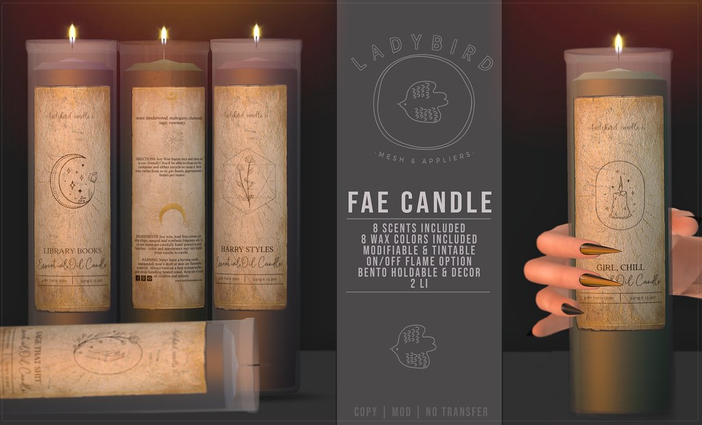 Ladybird. // Fae Candle @ The Warehouse Sale ♥