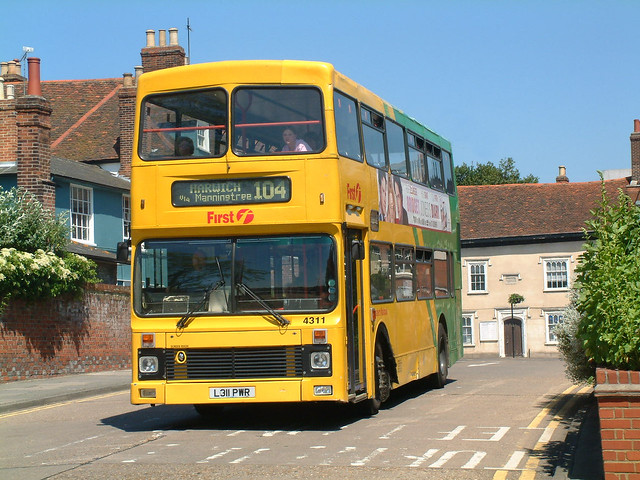 Eastern National L311PWR Colchester in 2002