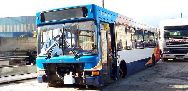 Stagecoach West Dennis Dart Plaxton Pointer PX05 EKM 34718