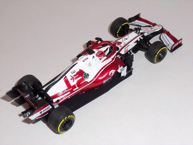 Alfa Romeo Racing C41 Barcelona Shakedown 2021 #88 Robert Kubica (Minichamps 1/43)