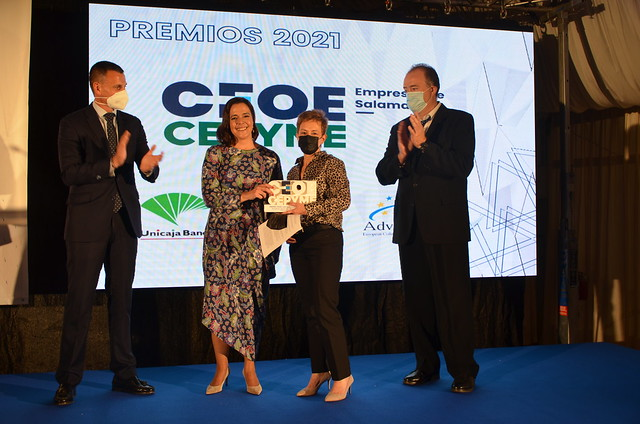 Premios CEOE CEPYME Salamanca - 22/10/2021