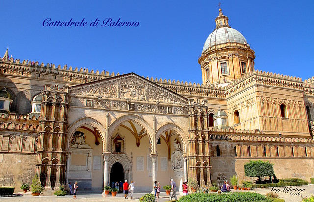 THE PALERMO CATHEDRAL of SICILY, ITALIY