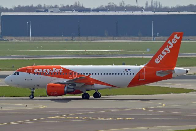 easyJet Europe OE-LQC Airbus A319-111 cn/3788 @ EHAM / AMS 08-04-2018