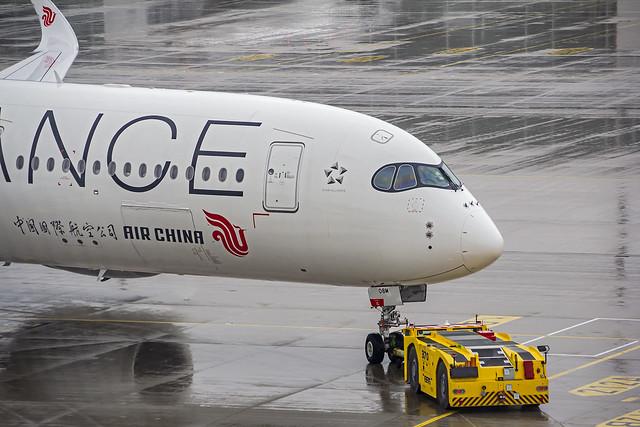 Air China Airbus A350-900 B-308M (Star Alliance Livery) Munich (MUC/EDDM)