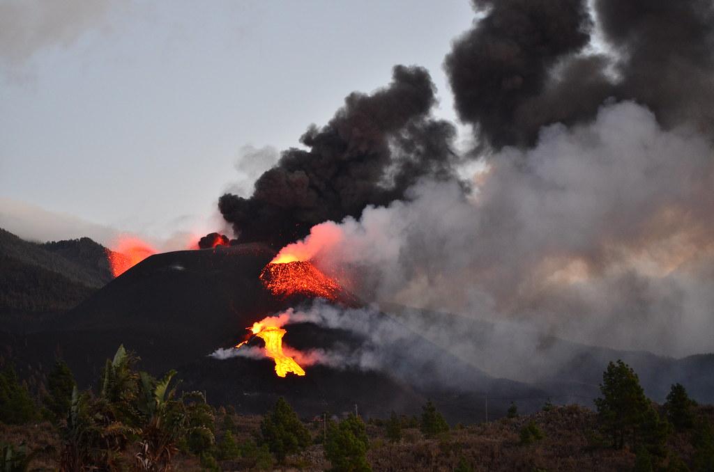 Volcán de Cumbre Vieja, 22-10-2021