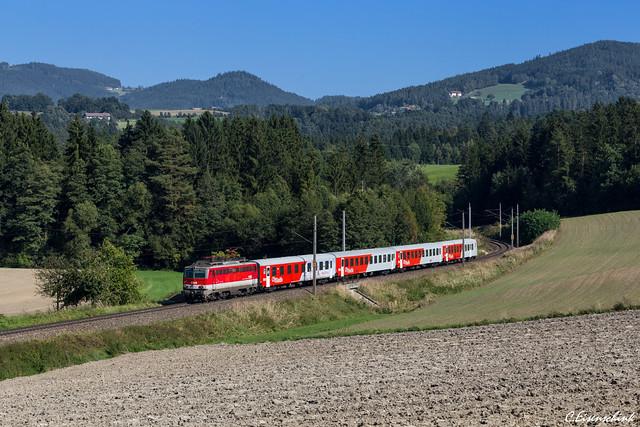 ÖBB 1142 632 auf der Summerauerbahn