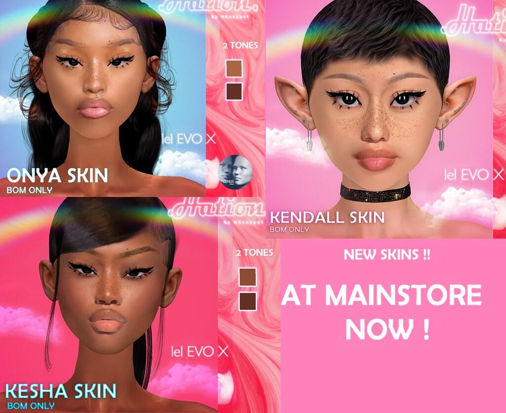 new skins  @ MainStore !
