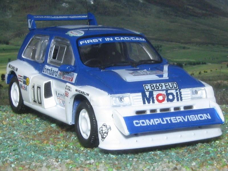 MG Metro 6R4 – RAC 1985