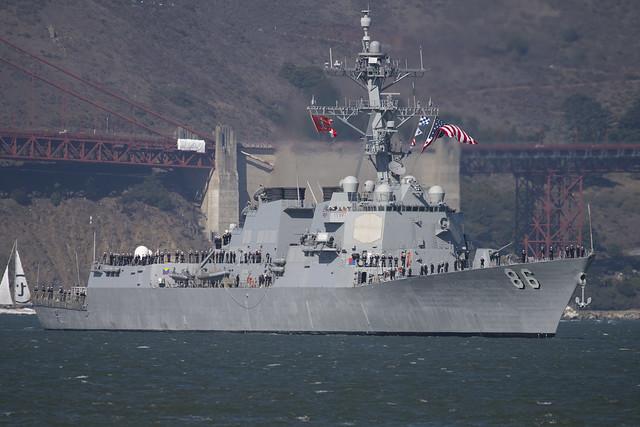USS Shoup DDG 86