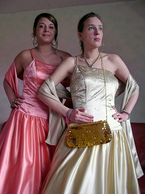 Lady and debutante
