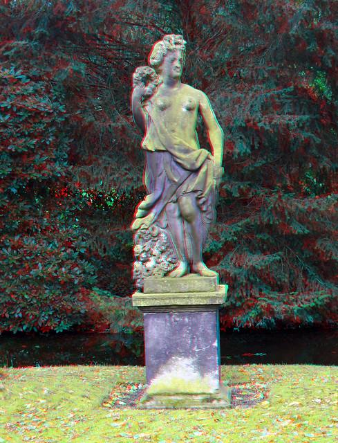 Statue Tuin Trompenburg Rotterdam 3D