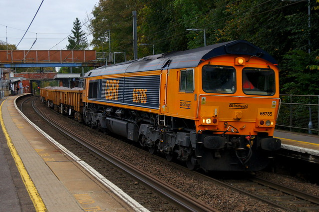 Weekenders: 66785 (66788 on rear) 6T64 Stansted Mountfitchet 23/10/21