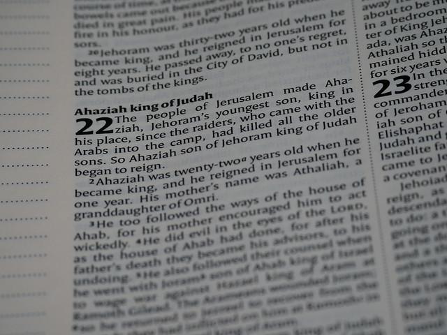 2 Chronicles 22