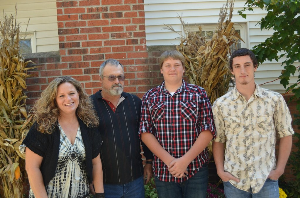 Darrell and Anna Watson and hers and his kids