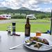 Shepherd's view camp site dinner-1