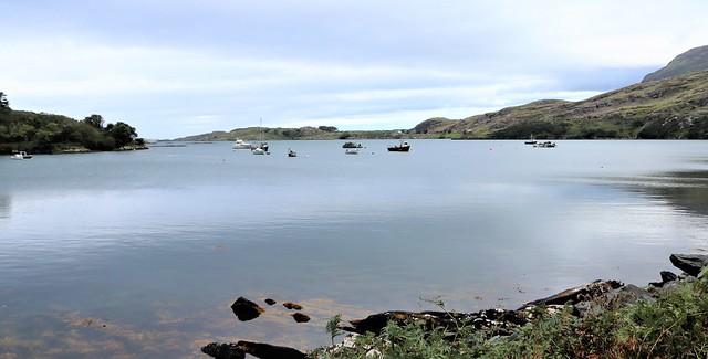 Connemara: on the road to Rosroe Pier