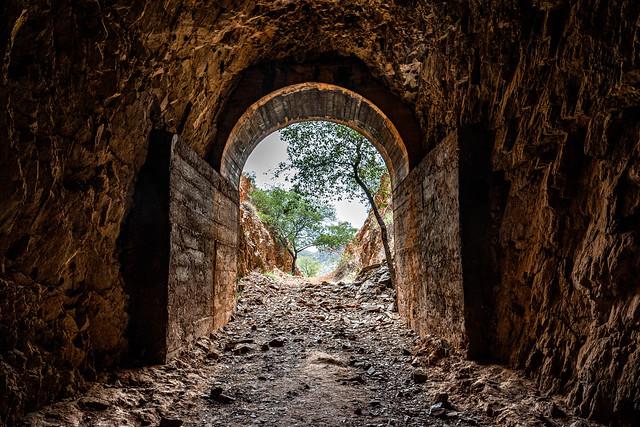 The Wee MacGregor Tram Tunnel (Hightville, North West Queensland's Argylla Ranges)