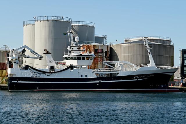 210825 Denemarken - North-Jutland - 02 Skagen 1048 / IMO 8741416 GG206 Ahlma West DK 210825 Skagen 1002