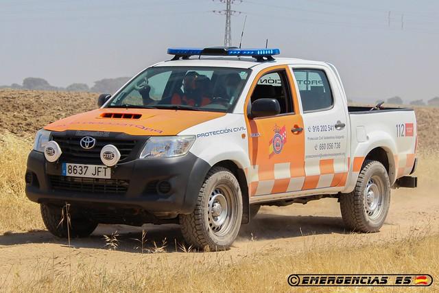 Protección Civil Valdeolmos-Alarpardo