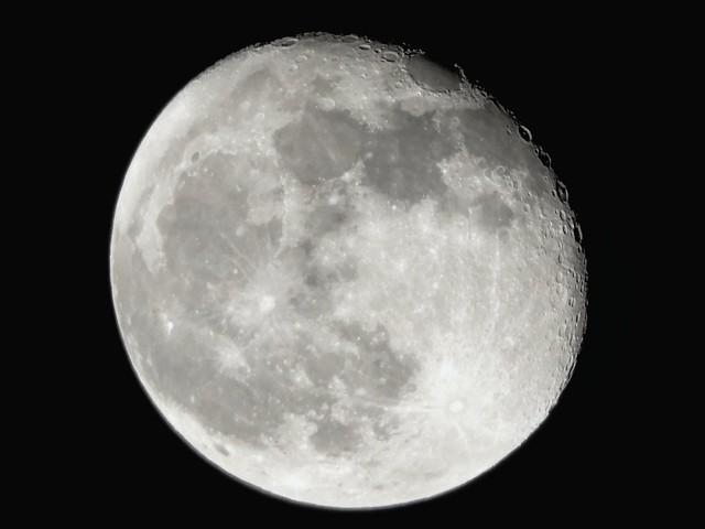 Moon Begins To Wane