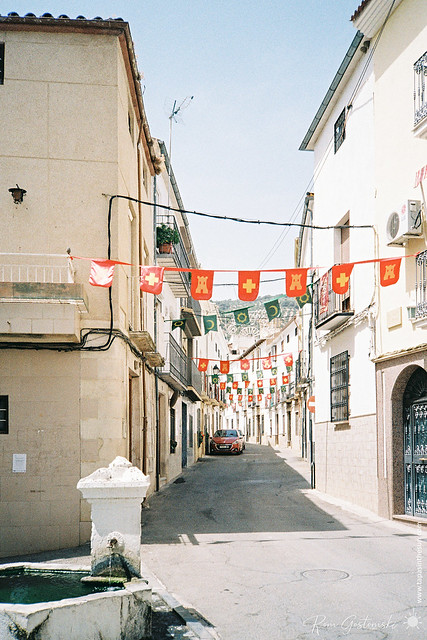 More colour film photos from Carchelejo