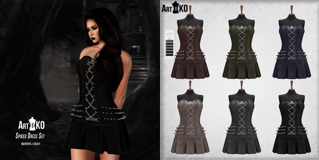 Art&Ko – Spiked Dress Set – The Warehouse Sale
