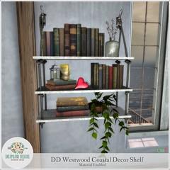 DD Westwood Coastal Decor Shelf 1024 AD A