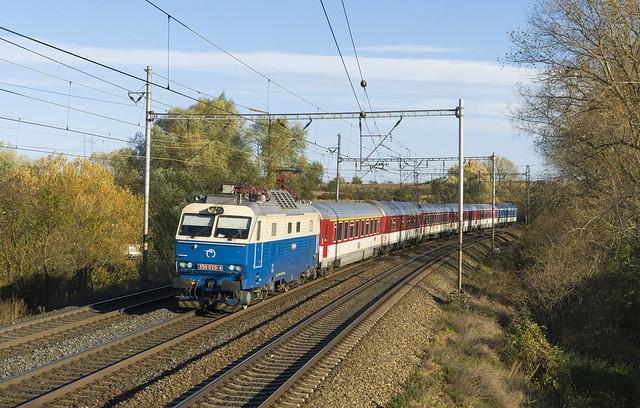 ZSSK 350.020 - Klučov (CZ)