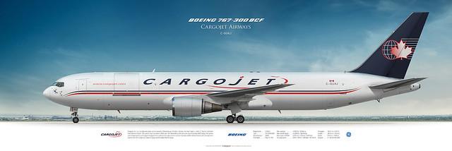 Boeing 767-300BCF Cargojet