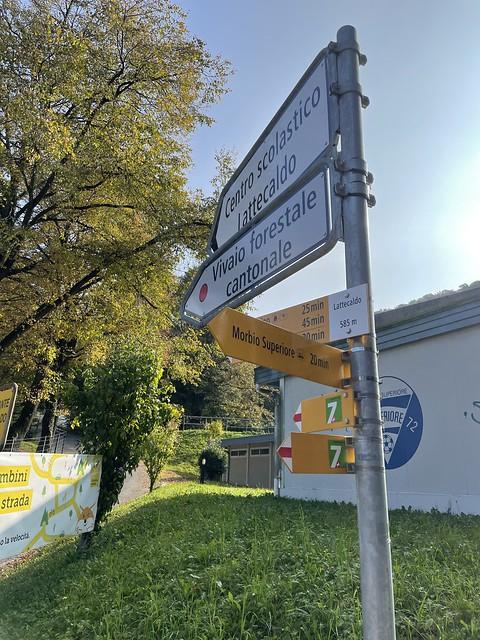 Trans Swiss Trail Epilog: Mendrisio - Chiasso