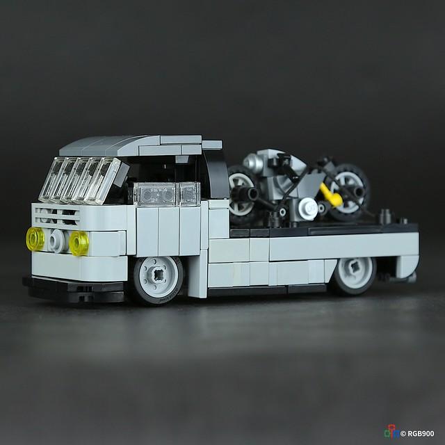 Volkswagen T2 Brick moc