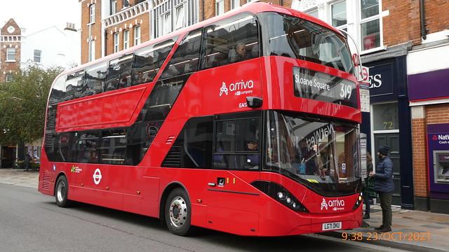 P1030789 EA17 LG71 DKU at The Northcote St John's Road Clapham Junction London