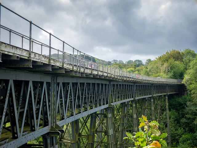 Meldon viaduct Dartmoor UK