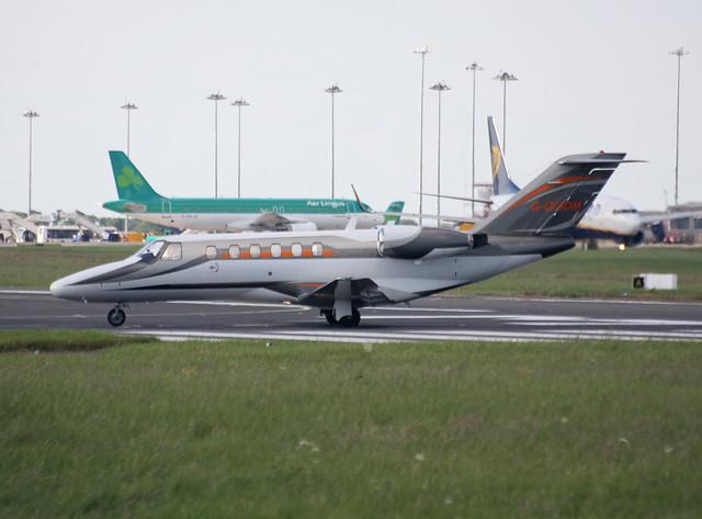 G-OODM Citation CJ2 Air Charter Scotland