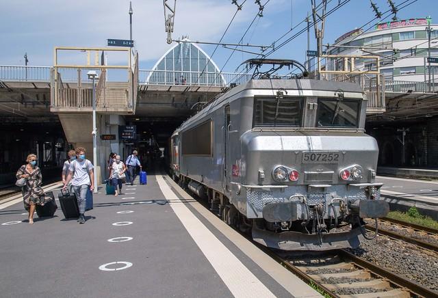 SNCF BB 7252 Montpellier Saint Roch