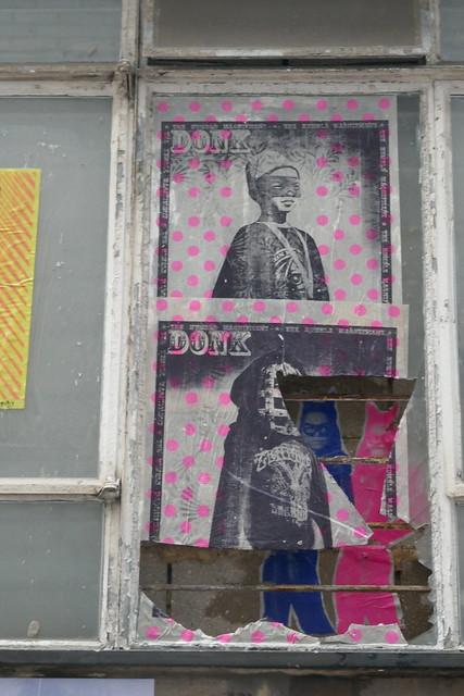 Donk, London International Pasteup Festival 2021, Shoreditch