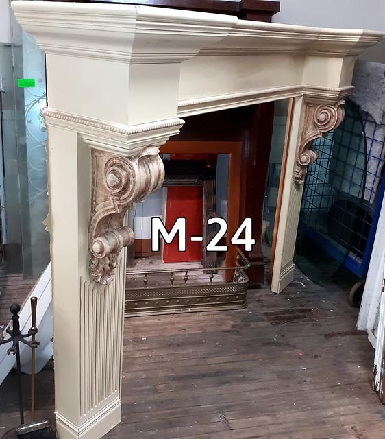 Fireplace Mantel M-24 - 2