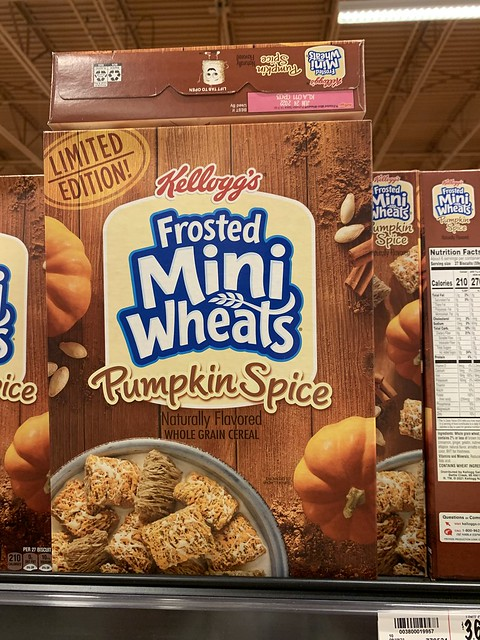 Kellogg's Limited Edition Pumpkin Spice Frosted Mini Wheats