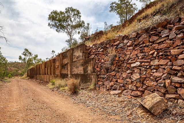 The Tramway-to-Railway Ore Transhipment Platform (Hightville, North West Queensland's Argylla Ranges)