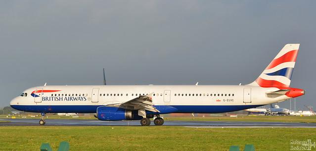 British Airways 🇬🇧 Airbus A321-200 G-EUXC