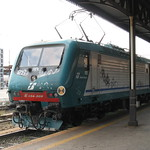 Verona: Locomotiva FS E.464, Verona Porta Nuova (Veneto)