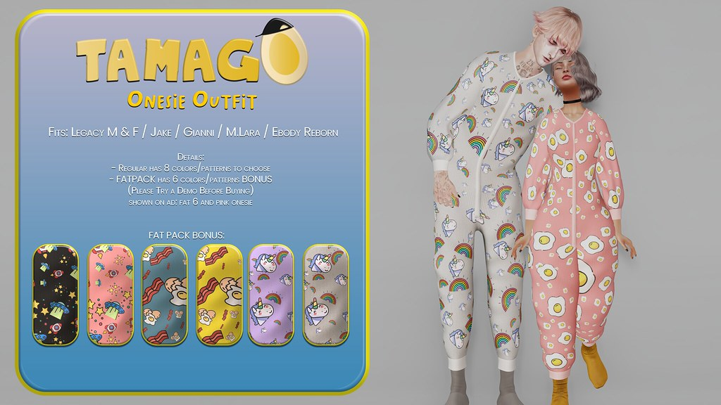 TAMAGO – Onesie Outfit @ Warehouse Sale Event