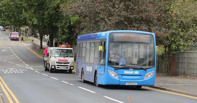 Diamond North West Bus 20516 - YX09 HYZ