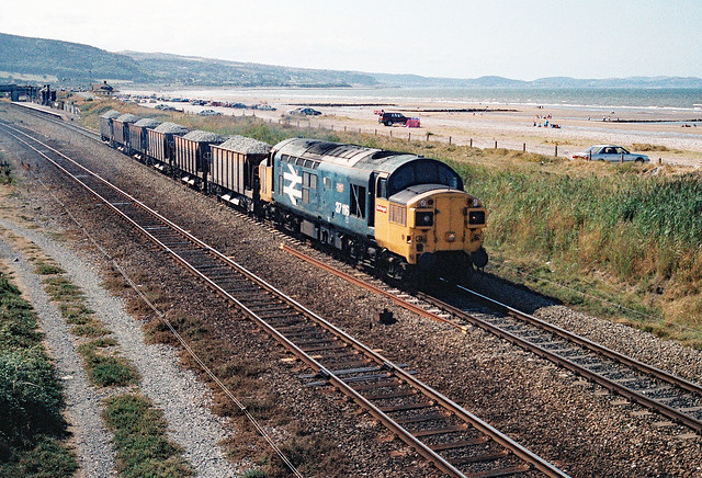 37 116 at Abergele & Pensarn on 23rd August 1995