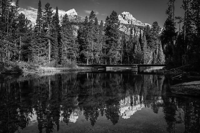 Bradley Lake, Grand Teton National Park. September, 2021.