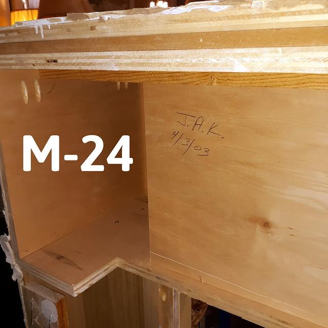 Fireplace Mantel M-24 - 4