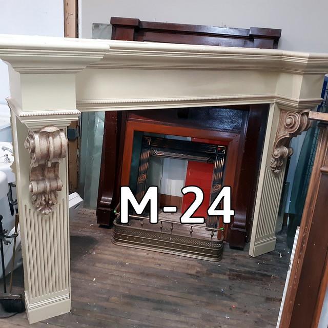 Fireplace Mantel M-24 - 1