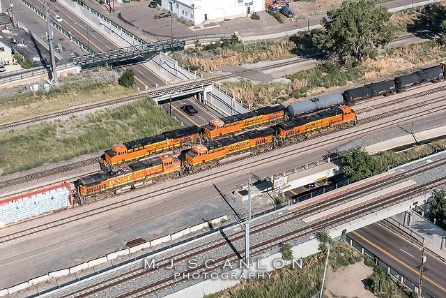 BNSF 8139 | GE ES44C4 | BNSF Brush Subdivision